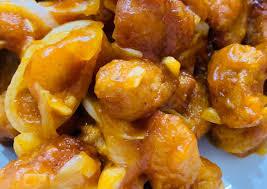 Lagi pengen yang gurih gurih asem,ayam nya di bikin ini aja 👍😋 Resep Chicken Popcorn Asam Manis Remas Nu