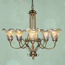 interiors 1900 zina 5 light chandelier antique brass ca9p5b