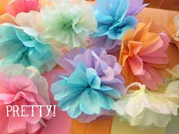 How To Make Flower From Tissue Paper Shore Society Diy Tissue Paper Flowers