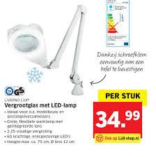 Livarno Lux Vergrootglas Met Led Lamp Aanbieding Bij Lidl