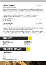 Resume And Selection Criteria Writers Free Resume Example And
