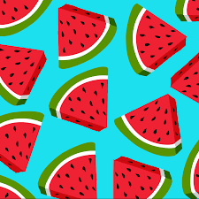 pineapple and watermelon background. wacky watermelon background pineapple and a