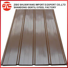 boxing corrugated galvanized metal roofing sheet