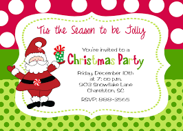 christmas invitation christmas party invitation