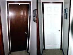 white interior doors with wood trim. Simple White Staining Interior Doors  To White Interior Doors With Wood Trim O
