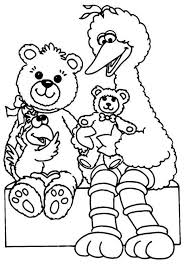 11 Pics Of Sesame Street Baby Bear Coloring Pages Sesame Street