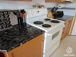 Counter Top Paint Modern Mommy Home Diy Part 2 Granite Countertop Paint In The Kitchen