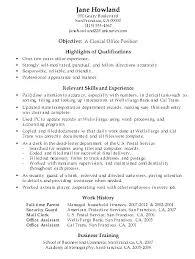 Accounting Clerk Resume Objective Mayhutam