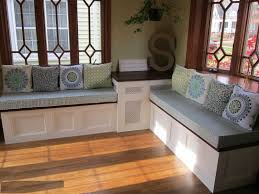 Kitchen Nook Bench Corner Nook Table Opt For A Duo Of Tables For More Flexibility