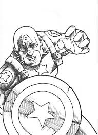 Small Picture Coloring Pages Captain America Shield Printable Coloring Pages