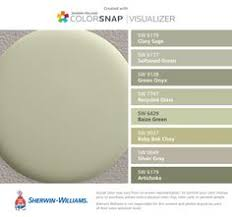 gray green paintSherwin Williams SW6175 Sagey SW6176 Livable Green SW6177 Softened