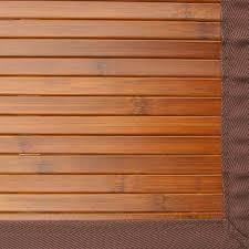 contemporary chocolate bamboo rug