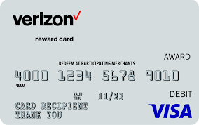 verizon visa prepaid card