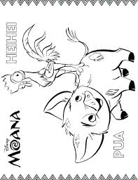 Disney Printable Coloring Pages Moana Color Pages Free Printable