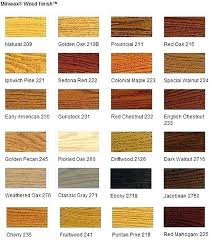 Gel Stain Color Chart Deck Stain Color Charts Chart Download By Outdoor Minwax