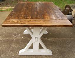 image of reclaimed farmhouse table plan