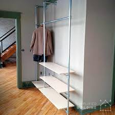 Coat Rack Shelf Diy DIY Modern Coat Rack with Floating Shelves Simplified Building 65