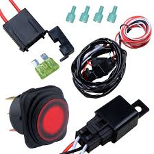 nilight off road atv jeep led light bar wiring harness kit 12v 40a size wiring harness kit 2 lead have a question plz send us the e mail we provide the service of one year replacement nilight wiring harness is a good