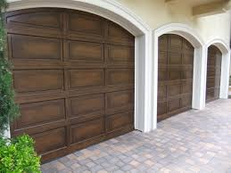 Exterior Faux Wood Garage Door Cost Modern On Exterior In Doors With