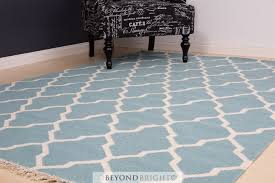 sweden 59 wool kilim rug blue 160x230