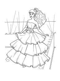 Disegni per i bambini, personaggi cartoni animati, fiabe e favole per bambini Disegni Di Barbie Da Colorare Foto Nanopress Donna