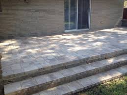 patio pavers installation