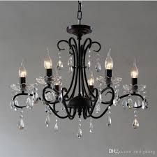 black iron candle chandelier european fashion vintage chandelier european castle style cafe clothing bar hanging chandelier dining room