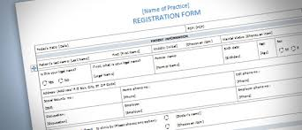 Registration Form Templates For Word Patient Registration Form Template For Word 2013