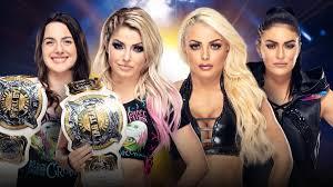 WWE Women's Tag Team Champions Alexa Bliss & Nikki Cross vs ...