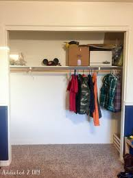 diy organized kids closet makeover no more wasted space the first thing i did was take