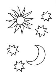 Malvorlagen Gratis Sterne Kostenlose Malvorlagen Ideen