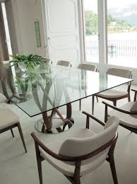 modern glass kitchen table. Plain Kitchen 10 Marvelous Modern Glass Dining Tables To Inspire You Today Intended Kitchen Table