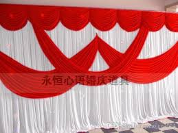 2016 newly design 20ft by 10ft white color wedding backdrop curtain stage background est free