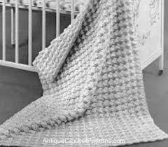Easy Crochet Baby Blanket Patterns Interesting Easy Crochet Baby Blanket Pattern