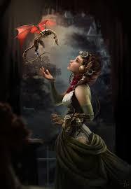 steunk dragon inventress