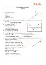 Full curriculum of exercises and videos. Ncert Solutions For Class 6 Maths Chapter 4 Basic Geometrical Ideas