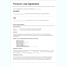 Private Loan Contract Template Personal Trainer Training Uk ...