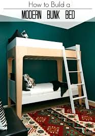 bunk bed design plans low loft diy