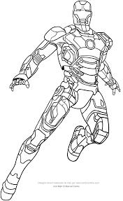 Una Raccolta Di Popolare Iron Man Disegno Da Colorare Disegni Da