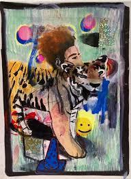 spirit animal painting brandon sines wet paint nyc bzl4zn
