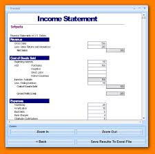 excel income statement 12 income statement excel g unitrecors