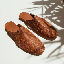 men lucca woven dark brown leather loafers leather slides leather slip ons leather sandals ashley summer co