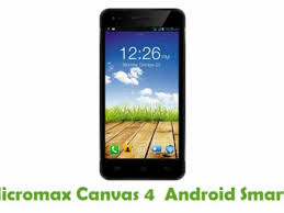 How To Root Micromax Canvas 4 A210 ...