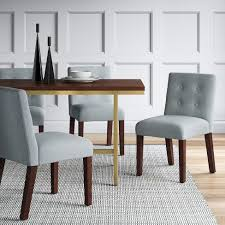 ewing modern dining chair with buttons project 62 target in room chairs decor 7 modern dining room chairs 625