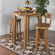 sunny designs sedona pub dining room table 1278ro