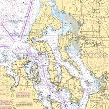 Washington Whidbey Island Greenbank Nautical Chart