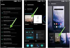 OnePlus phone wallpaper and lock screen ...