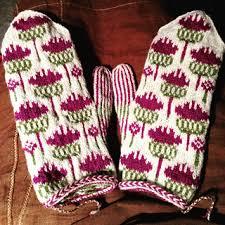 Thistle Knitting Chart Vottene Hvitbladtistel Melancholy Thistle Pattern By Pinneguri