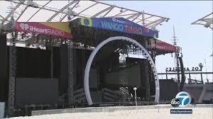 Wango Tango Seating Chart Wango Tango Tests Out Las Banc Of California Stadium With 1st Concert