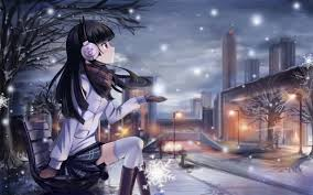Beautiful girl ‿ Kawaii Anime Wallpaper ...